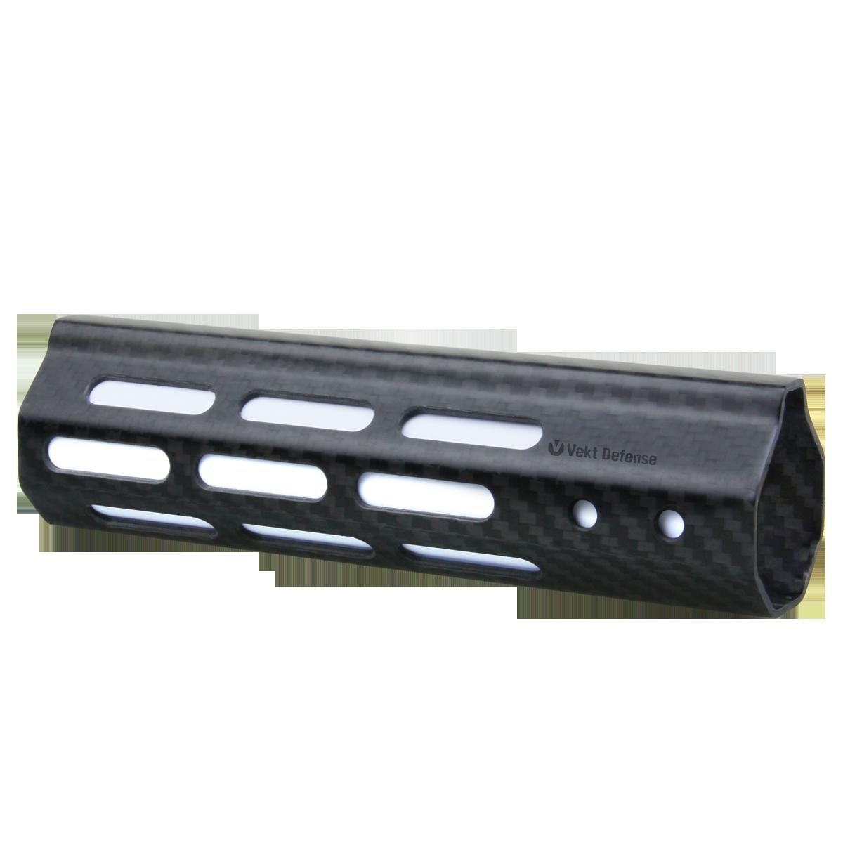 "Vector Optics Vekt Defense VDCF-07 Carbon Fiber 7"" Slim Handguard Rail Mount"