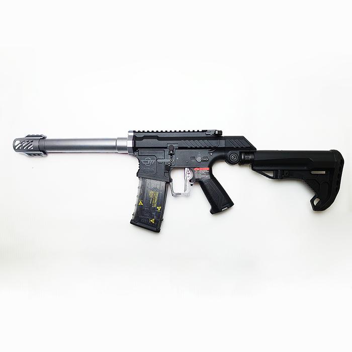 SSG-1本体+カラーパーツキット【SILVER】取付済みモデル