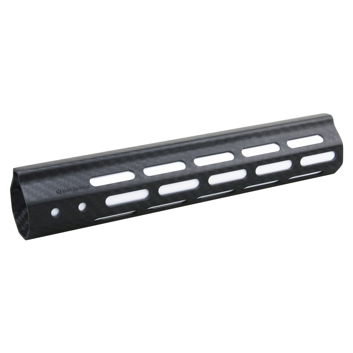 "Vector Optics Vekt Defense VDCF-10 Carbon Fiber 10"" Slim Handguard Rail Mount"