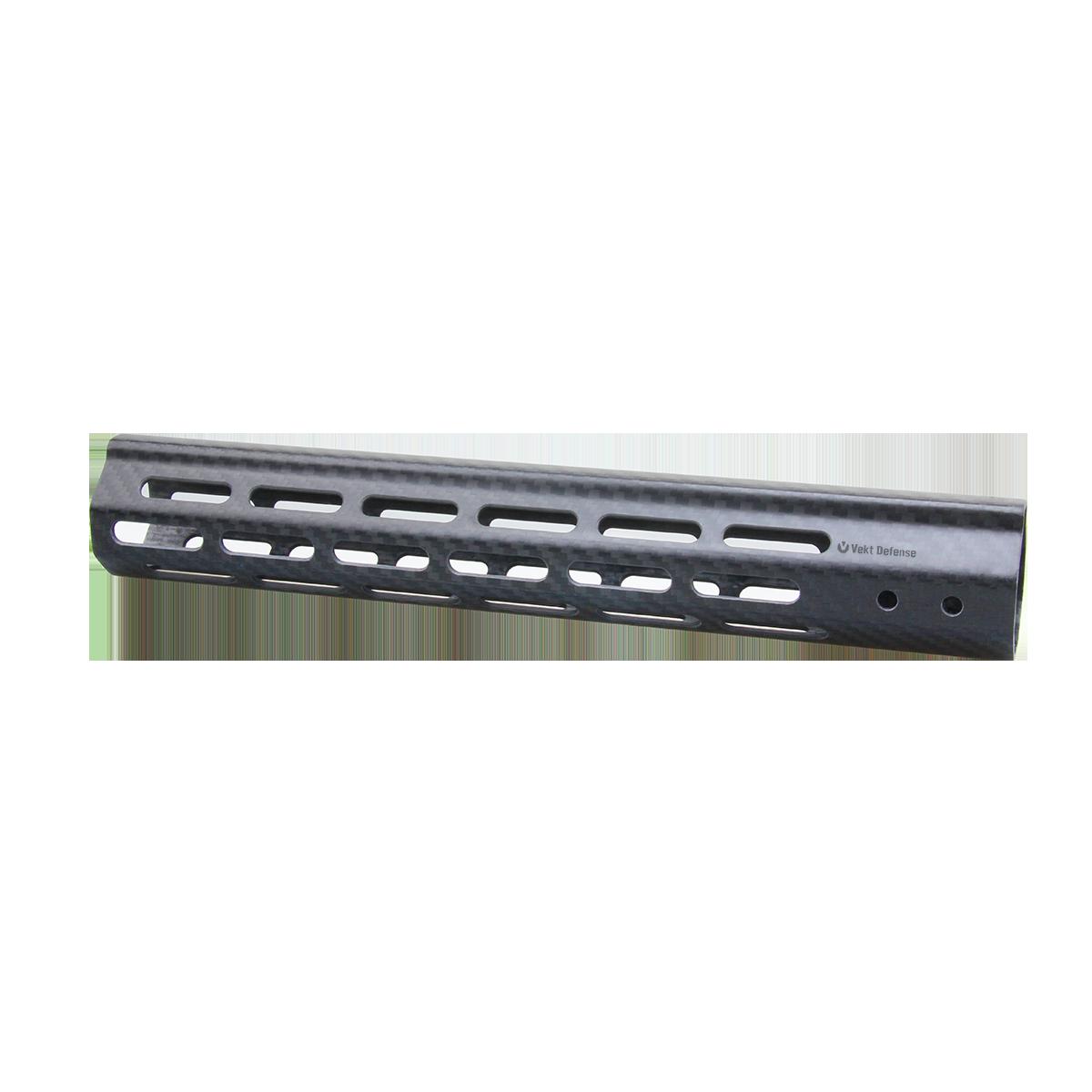 "Vector Optics Vekt Defense VDCF-12 Carbon Fiber 12"" Slim Handguard Rail Mount"