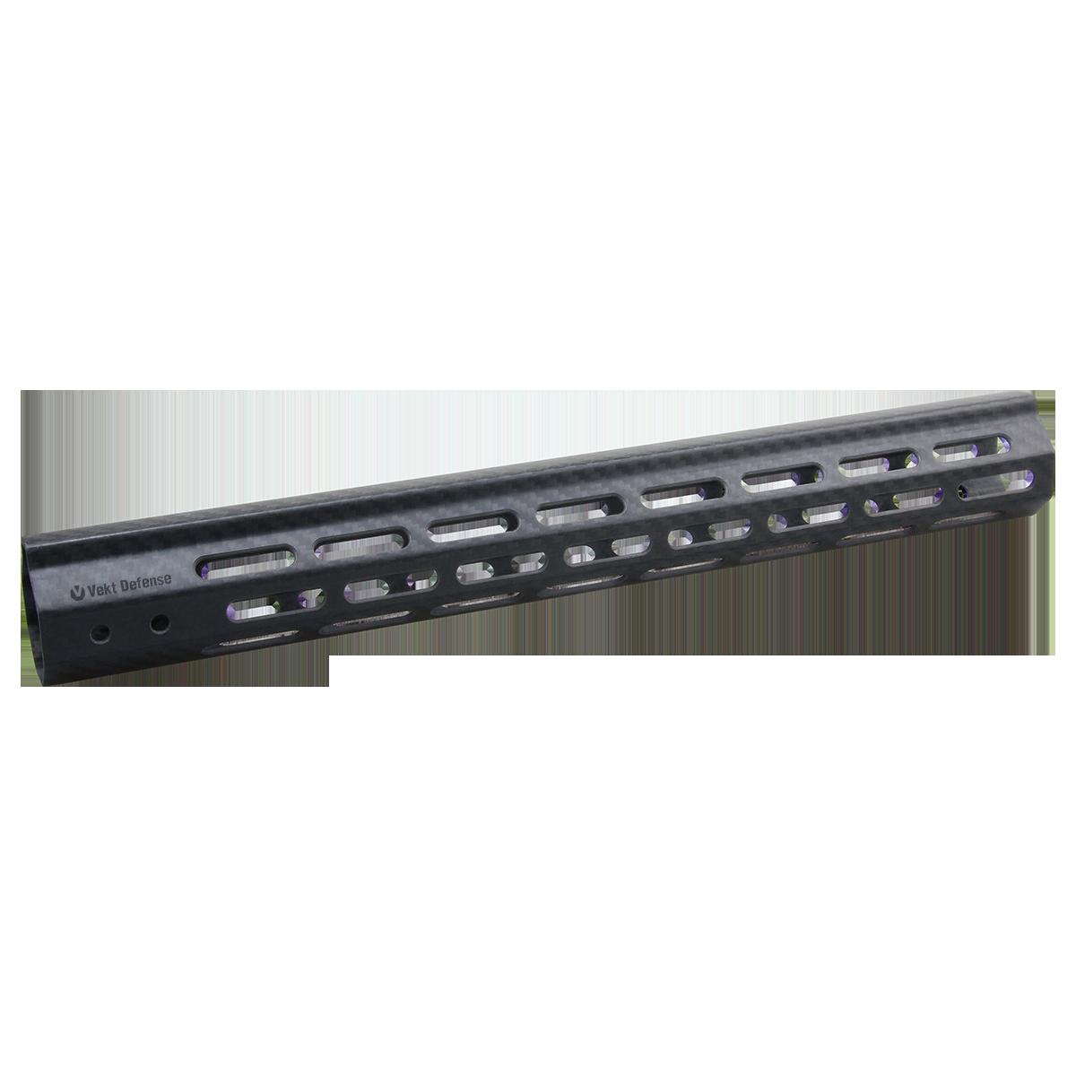 "Vector Optics Vekt Defense VDCF-15 Carbon Fiber 15"" Slim Handguard Rail Mount"