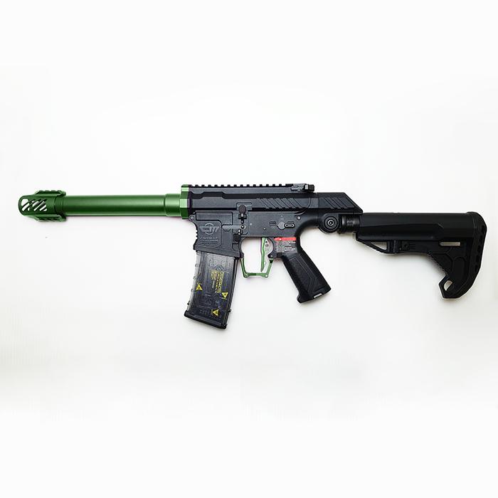 SSG-1本体+カラーパーツキット【GREEN】取付済みモデル