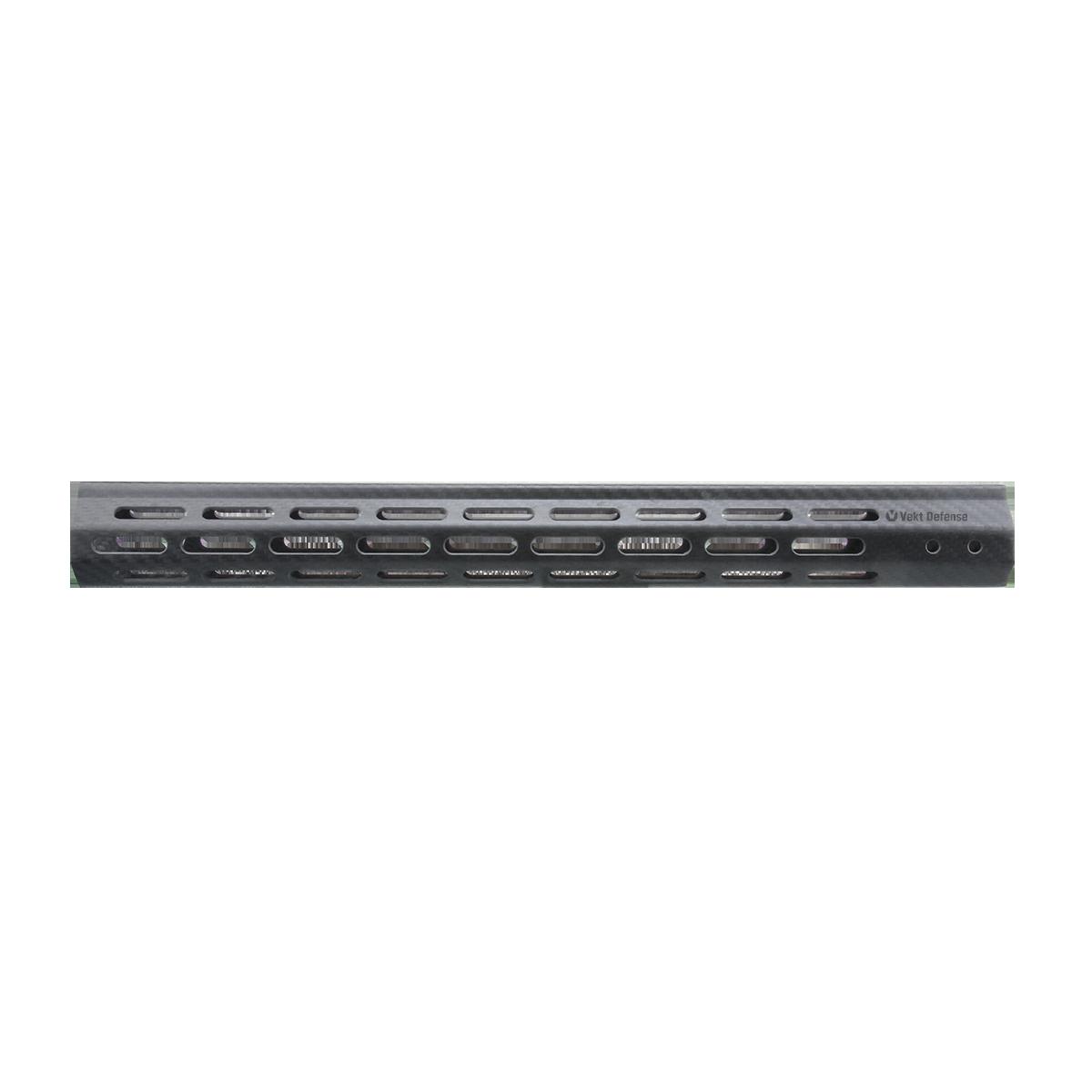 "Vector Optics Vekt Defense VDCF-17 Carbon Fiber 17"" Slim Handguard Rail Mount"