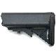 G&G G-05-035 Crane Stock for GR16-Black (QD Battery Type)