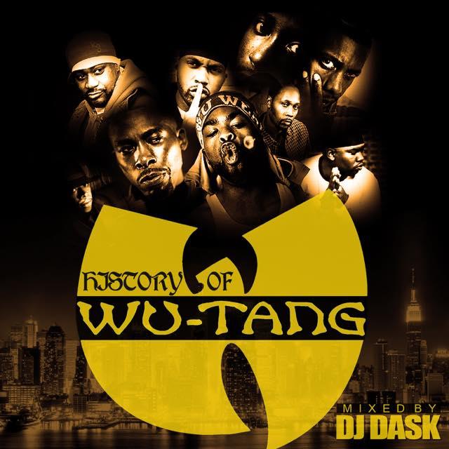 【史上最高のラップグループWu-Tang Clanベスト!!】DJ DASK / History Of Wu-Tang Clan [DKCD-270]