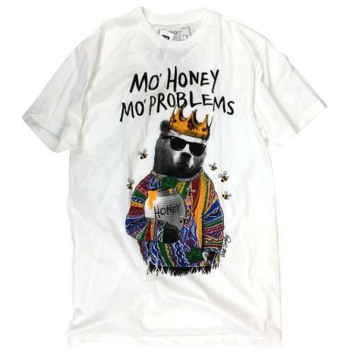 【RIOT SOCIETY】【Tシャツ】モーハニーTシャツ[riso_01]