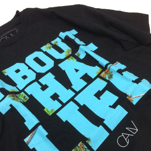 【CALV】【Tシャツ】CALVパームツリーロゴTシャツ[calv_02]