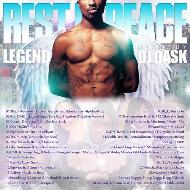 【今は亡きレジェンド達のクラシックMIX】DJ DASK / Rest In Peace Legend [DKCD-279]