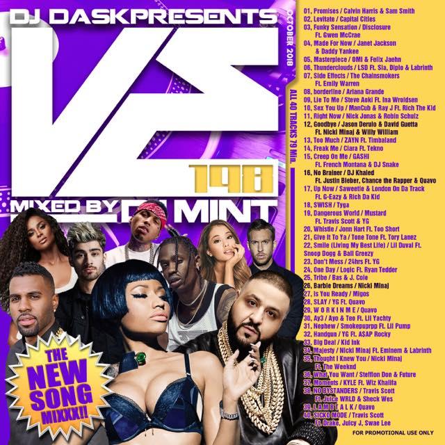 【最新!最速!!新譜MIX!!!】DJ Mint / DJ DASK Presents VE198 [VECD-98]