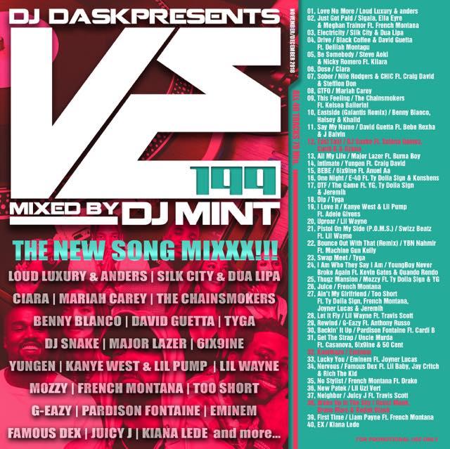 【最新!最速!!新譜MIX!!!】DJ Mint / DJ DASK Presents VE199 [VECD-99]