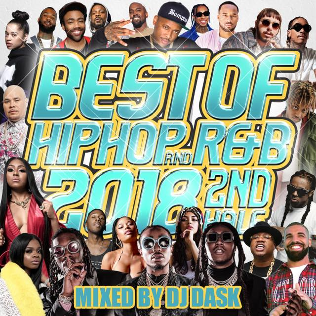 【2018年下半期HIP HOP AND R&Bベスト!! 】 THE BEST OF HIP HOP AND R&B 2018 2nd HALF [DKCD-295]