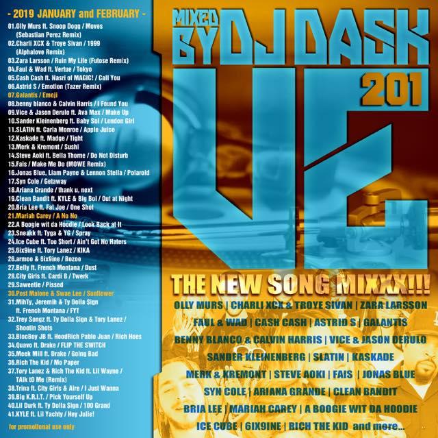 【最新!最速!!新譜MIX決定版!!!】 DJ DASK / VE201 [VE2CD-01]