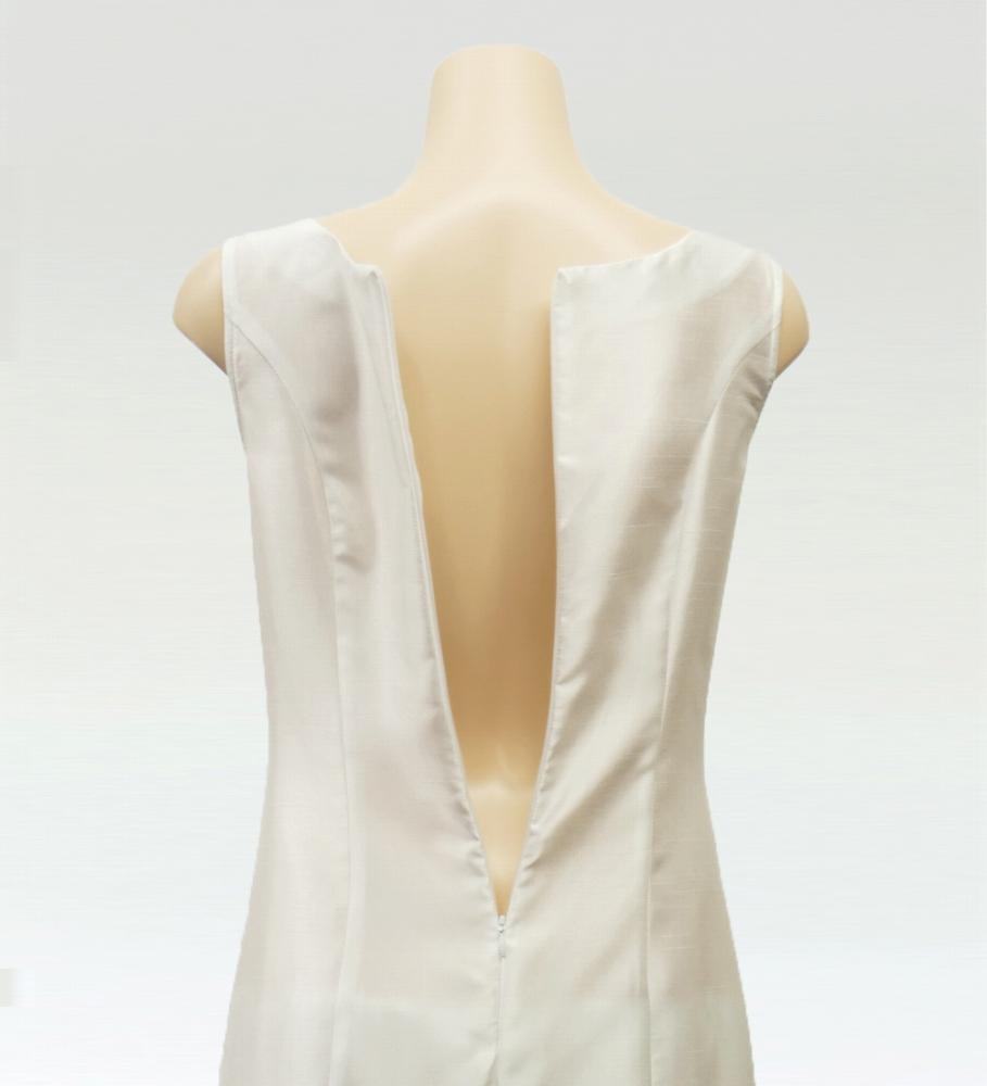 フラダンス レフアシャンタンロングドレス ホワイト 2555wh