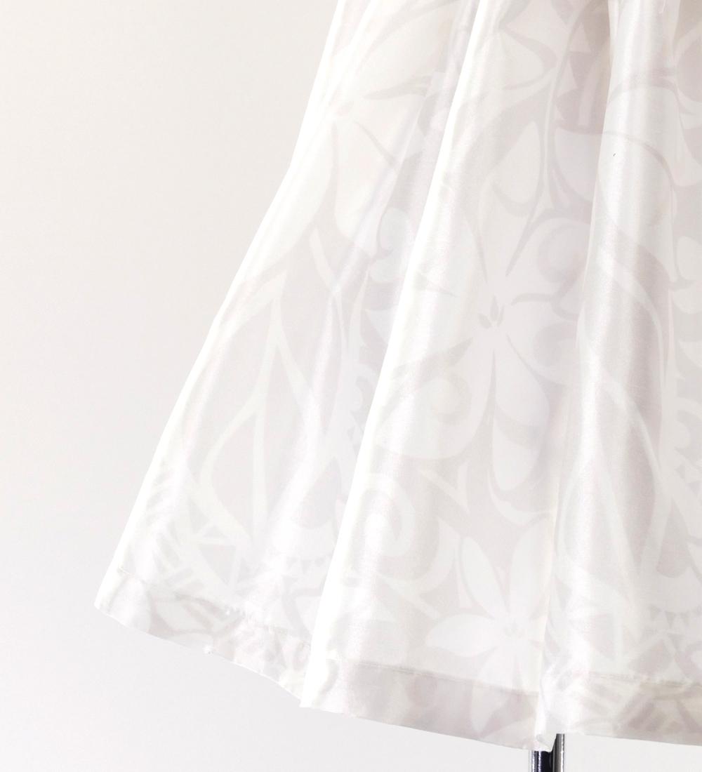 フラダンス ケイキ シャンタン カヒコ セットアップ ホワイト p41wh