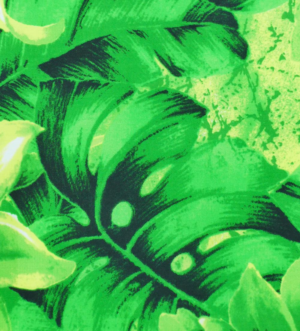 フラダンス パウスカート シングル バイカラー グリーン 2636