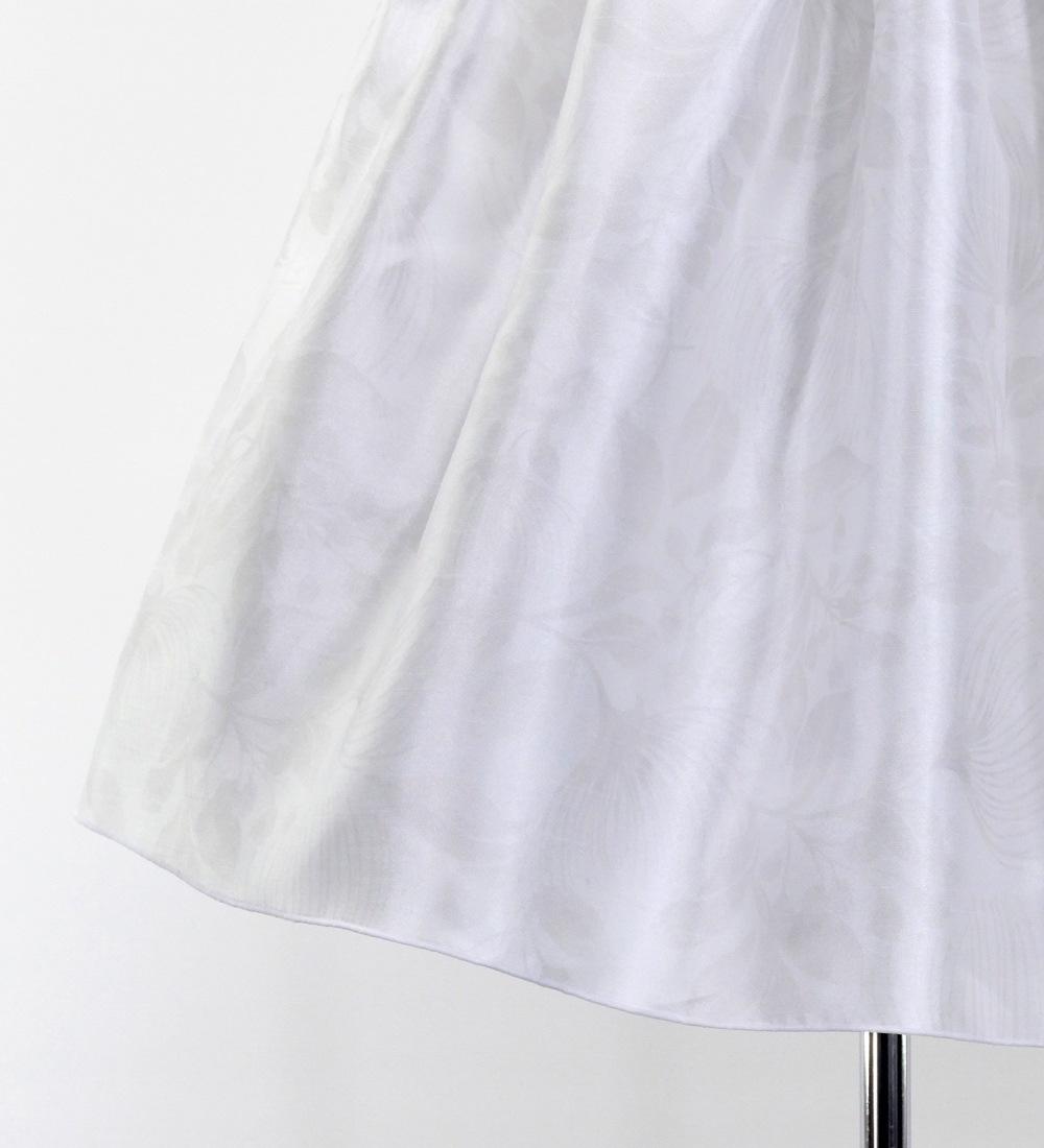 ケイキ フラドレス ミディ丈 レフア ホワイト Jp49wh