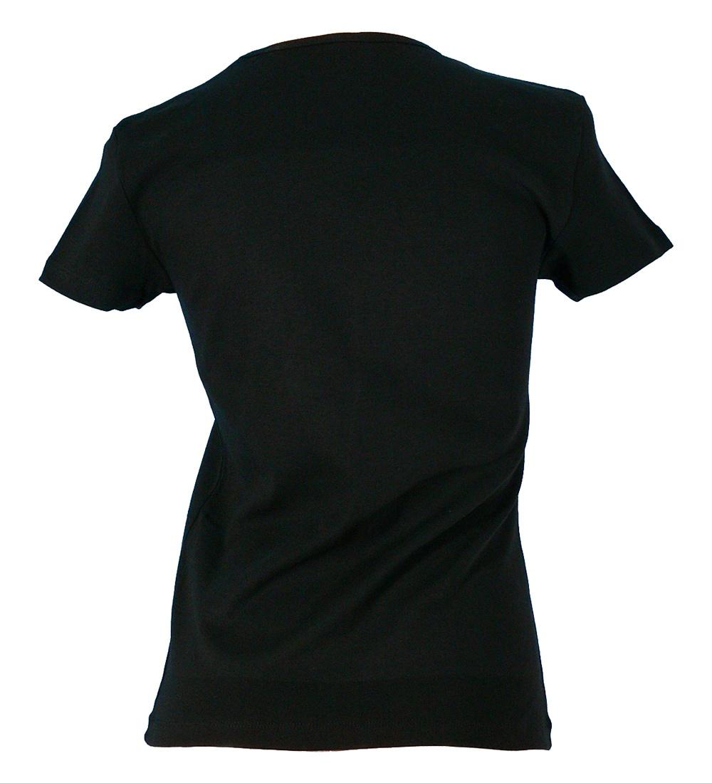 フラメンコ ローズレースプリント Tシャツ ブラック 726b