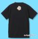 名入れTシャツ ブラック NT009b