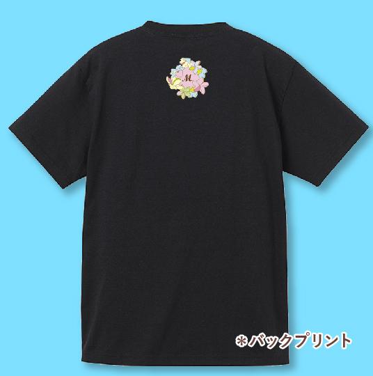 名入れTシャツ ブラック NT010b