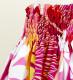 フラダンス パウスカート シングル73cm丈 ピンク 2659