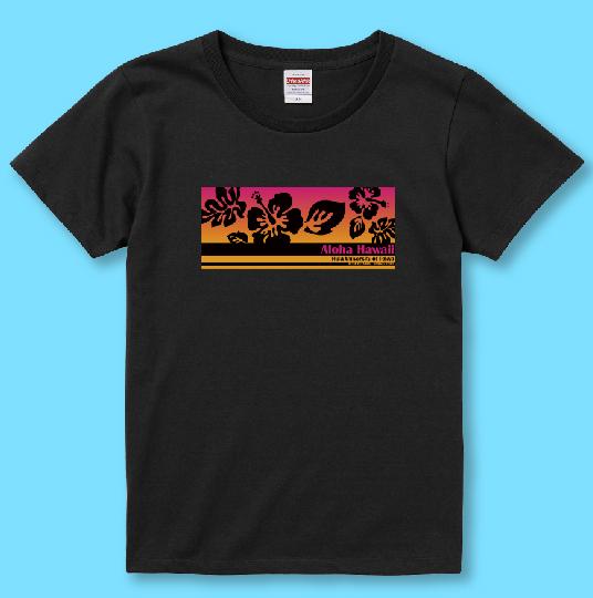 名入れTシャツ ブラック NT014b