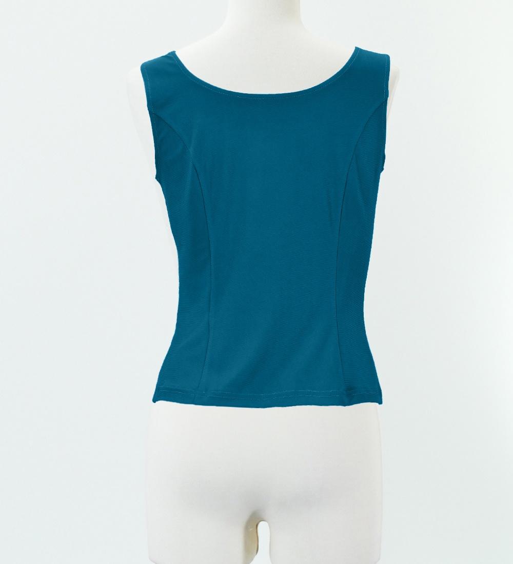 Sサイズ フラメンコ ブラウス ブルー 2433rblS