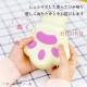 湯たんぽ 猫型 レンジ 加熱 ピンク色 宅配便発送 1yutanpo-pi
