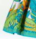 フラダンス パウスカート シングル73cm丈 クリーム 2470