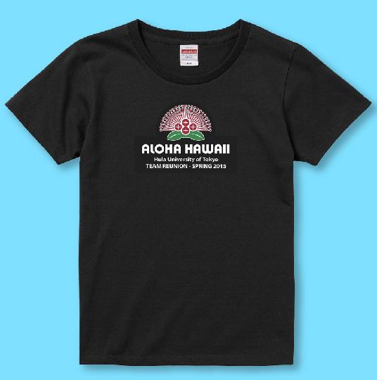 名入れTシャツ ブラック NT002b