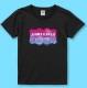 名入れTシャツ ブラック NT008b