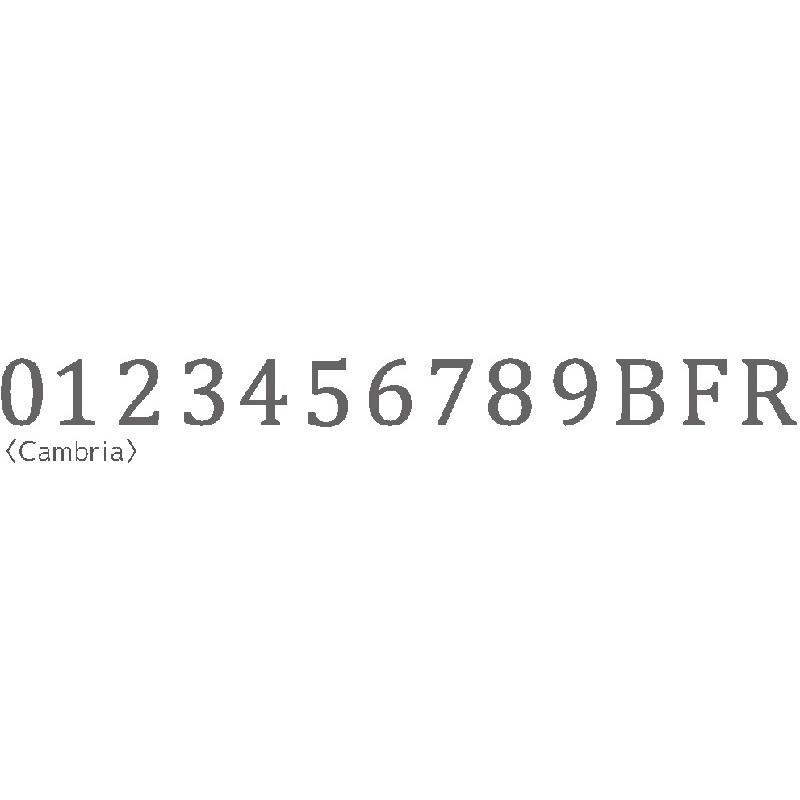 文字サイン ステンレスHT H60/H150