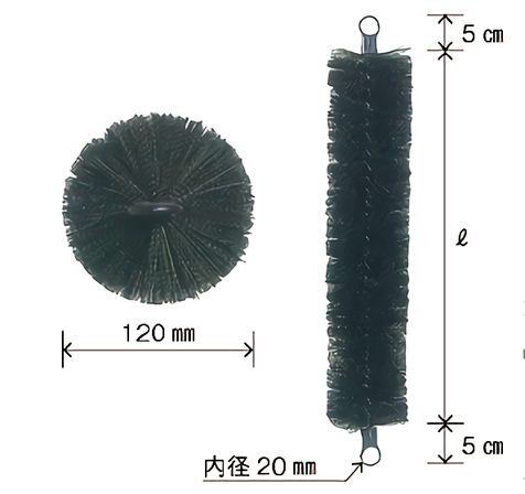ロール濾材 400mm x 50本セット