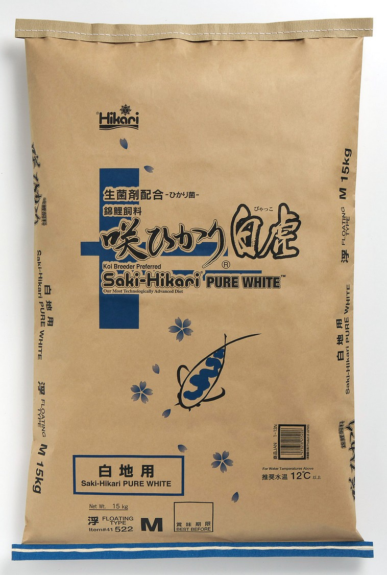 咲ひかり「白虎」白地仕上げ(浮上性)15Kg