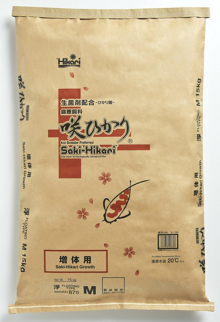 咲ひかり 増体用(浮上性) M・L(中粒・大粒) 15Kg