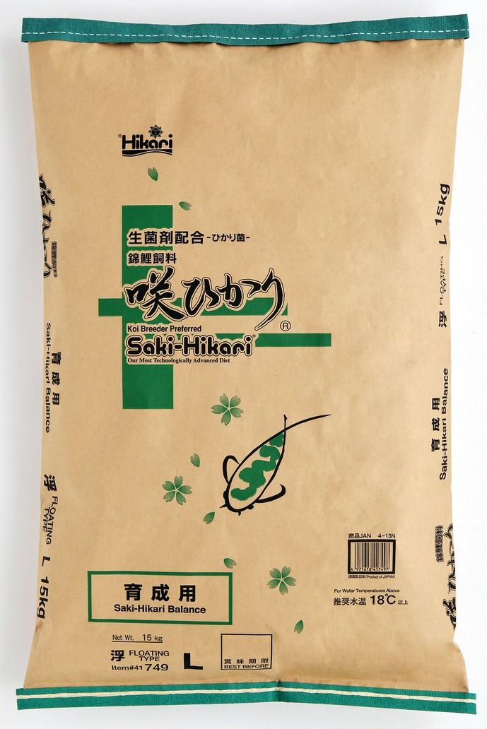 咲ひかり育成用(浮上性) S・M・L(小粒・中粒・大粒) 15kg