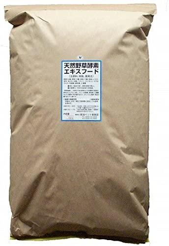 天然野草酵素エキスフード(浮上性) 15Kg