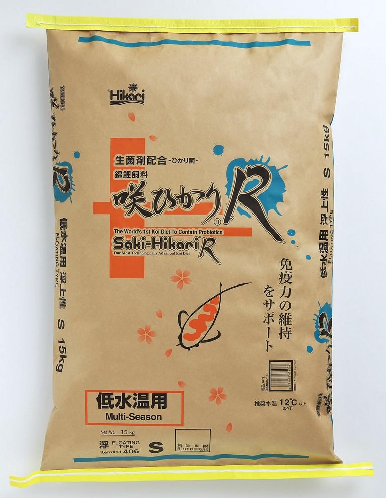 咲ひかりR 低水温用(浮上性) S(小粒) 15Kg