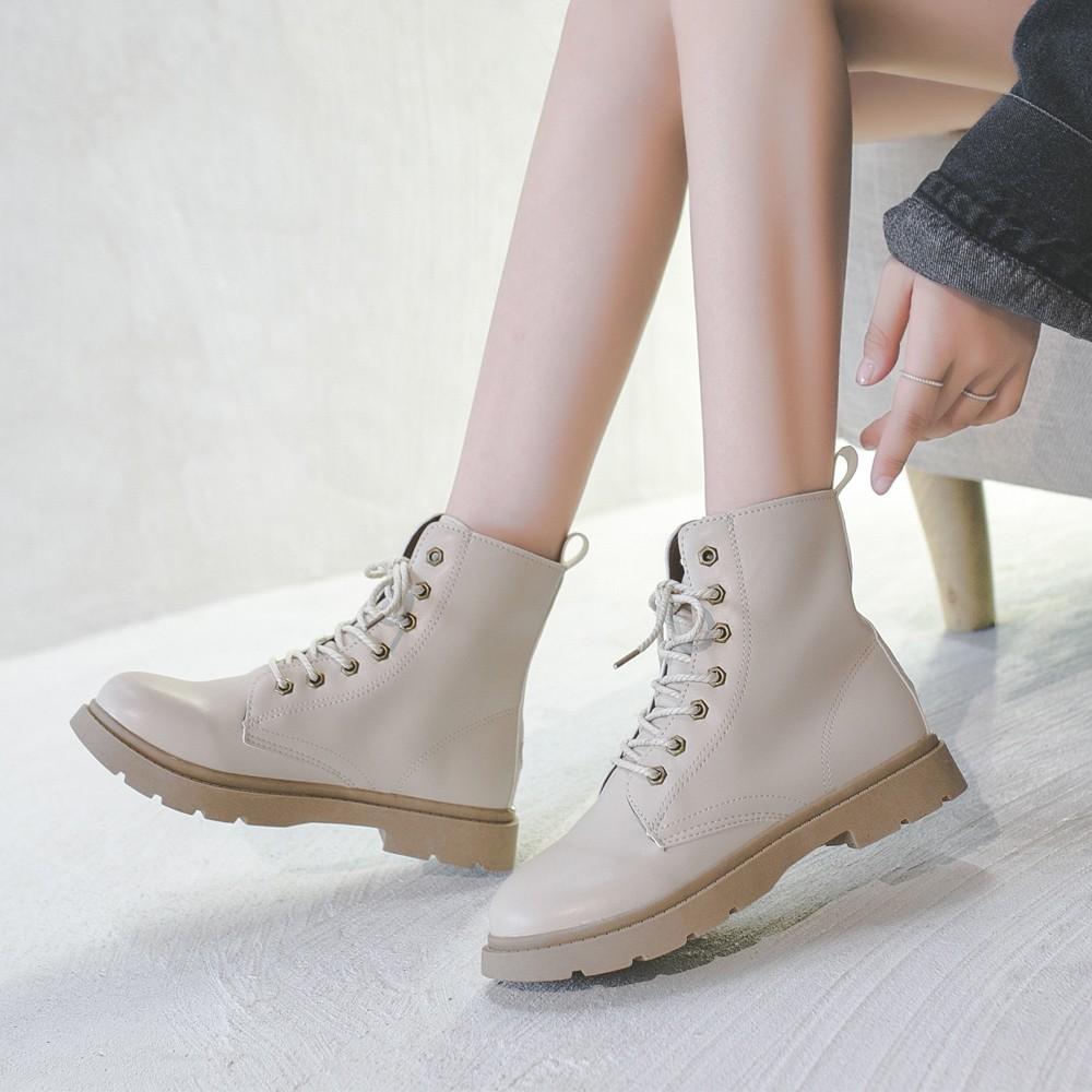 ブーツ レディース ショート丈 靴 ワークブーツ レースアップ エンジニアブーツ ローヒール