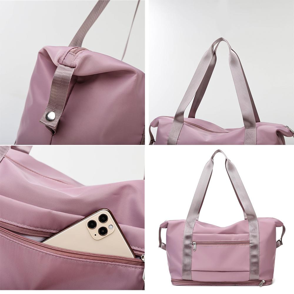 キャリーオンバッグ トラベルバッグ レディース 大容量 旅行バッグ はっ水加工 ボストンバッグ 男女兼用