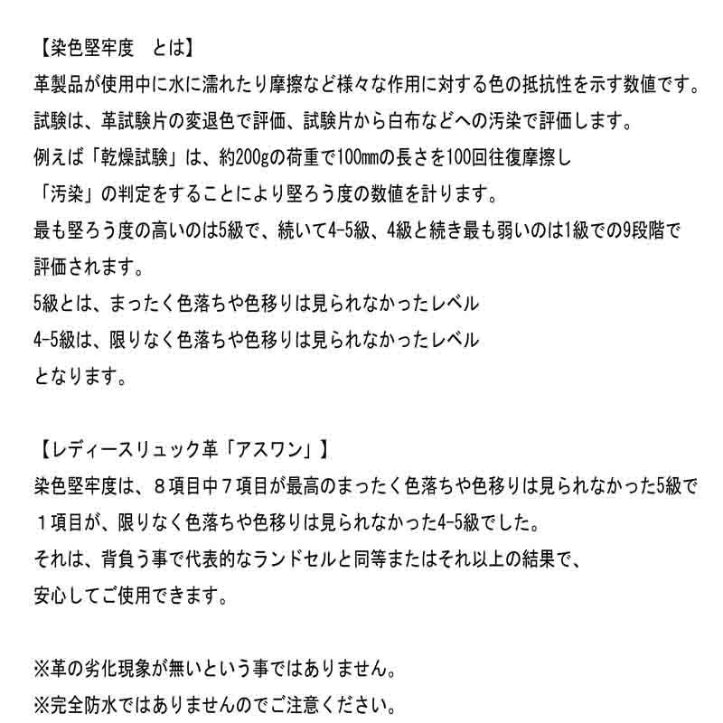 日本製 レディース 大人のレザーリュック 軽量でA4が入るので通勤に最適 「Together/Gray」