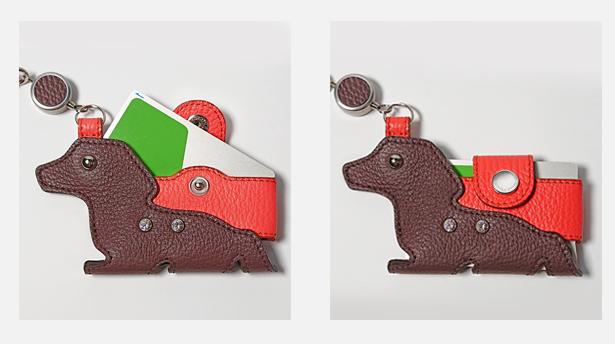 犬と猫型パスケース 猫&プードル&チワワ 2020年の追加色