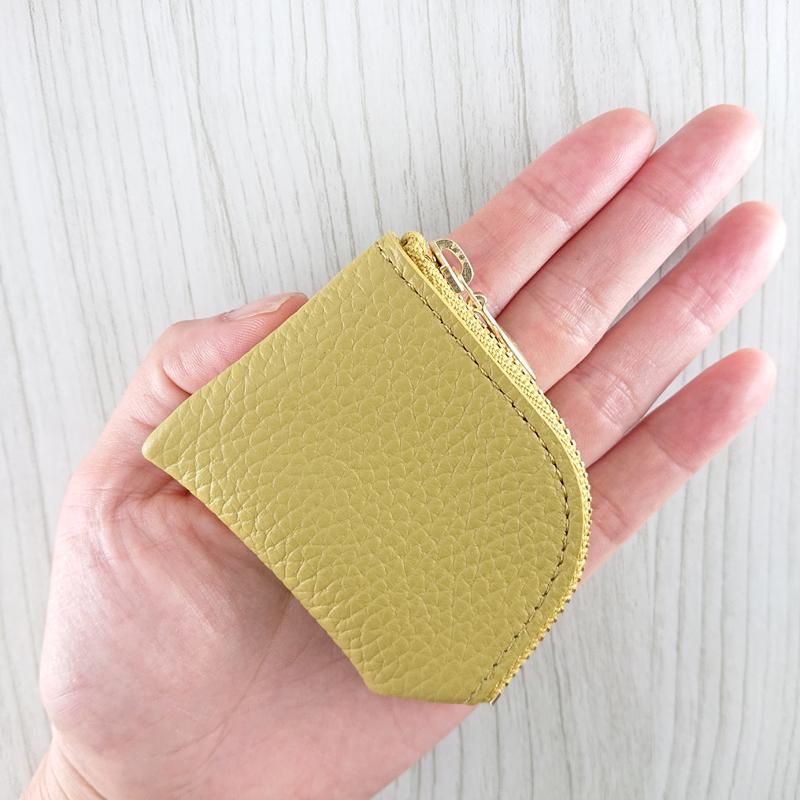 小銭入れ・コインケース 日本製 【 犬の型押し】
