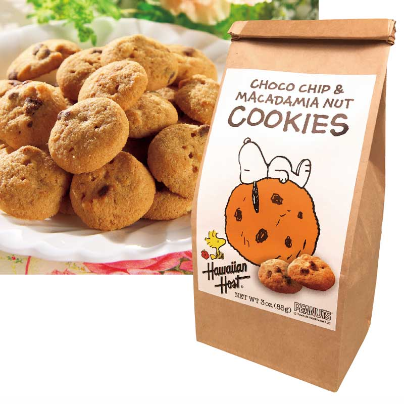今だけ30%OFF・スヌーピーチョコチップマカデミアナッツクッキー1袋