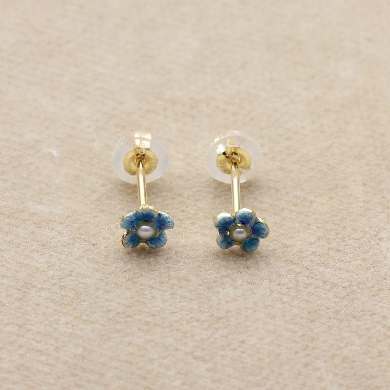 ジャルダンピアスP-01忘れな草(ブルー)L