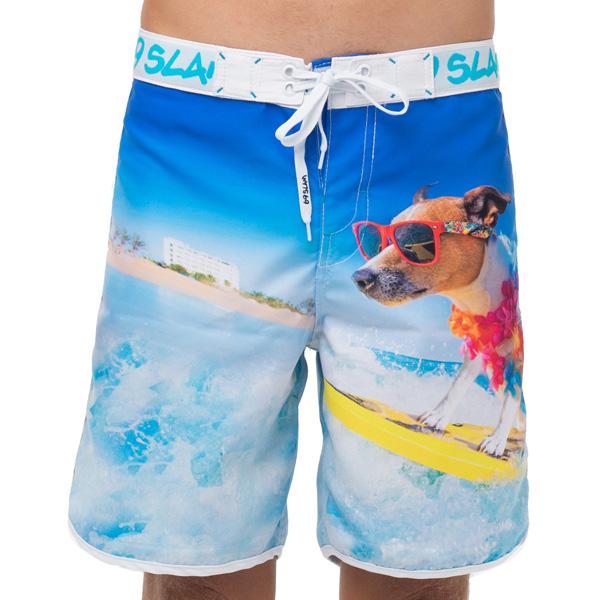 【数量限定 メンズ サーフパンツ ミディアム丈】SSOSDG-PM 柄: SURF DOG