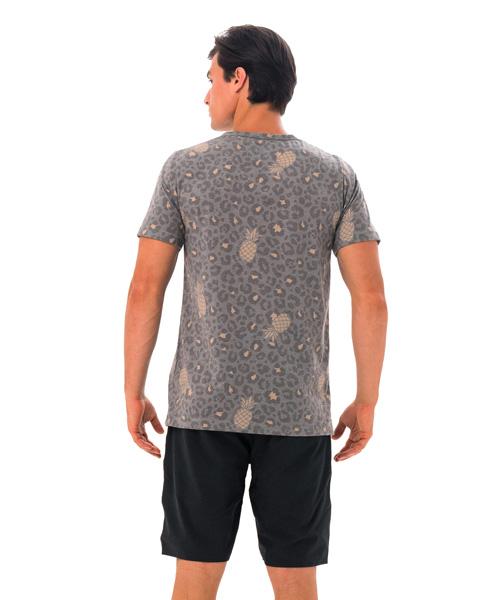 【水陸両用 メンズ ラッシュ Tシャツ】MTXLEA-KH 柄:LEONANA KHAKI