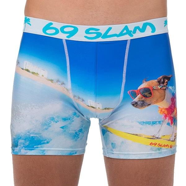 【4点カートに入れると1枚無料!!】【数量限定 メンズ ボクサーパンツ】MCYSDG-PO 柄:SURF DOG