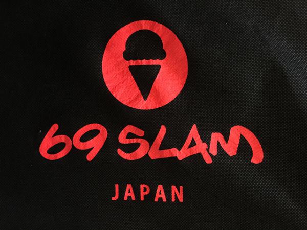 69SLAM JAPAN オリジナル 布製ギフトバッグ