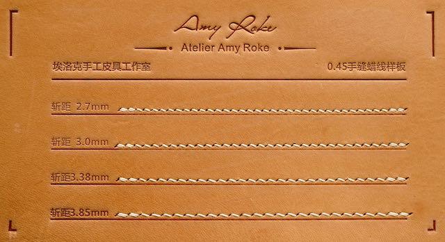 12刃 - AmyRoke prickingiron(アミーローク ヨーロッパ目打ち)