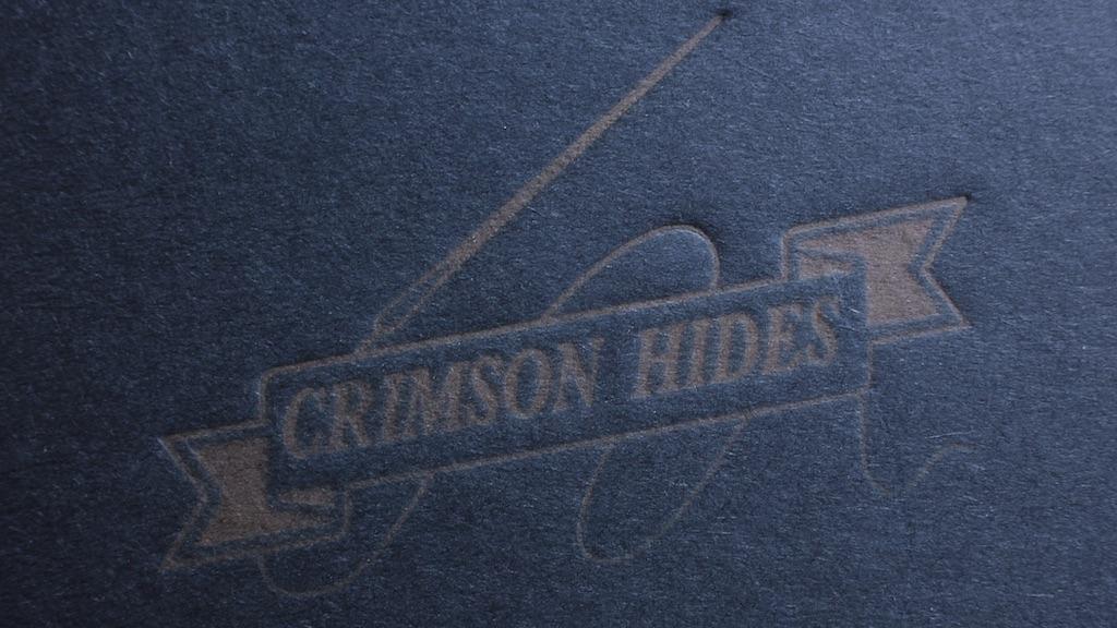 Japanese Style Crimson Irons(クリムゾン 菱目打ち)